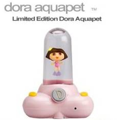 Dora Aquapet. I am not sure what an aquapet is? But it appears that Dora the Explorer is floating inside of an oversized dildo. Can you help me find the G-spot? Muy Bueno!