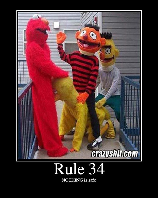 Sesame Street Cartoon porno